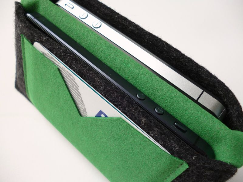 Smartphonewalletpocketgreen